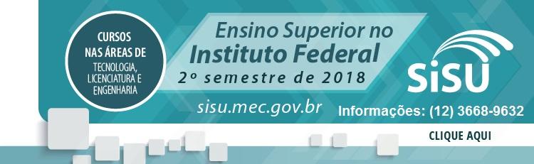 Sisu: IFSP oferece 880 vagas para cursos superiores gratuitos