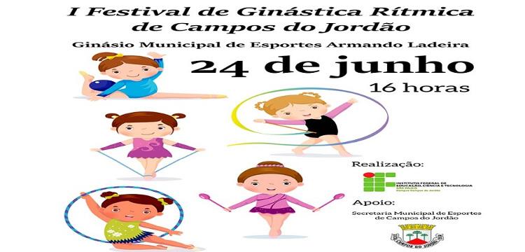 CONVITE: I Festival de Ginástica Rítmica de Campos do Jordão