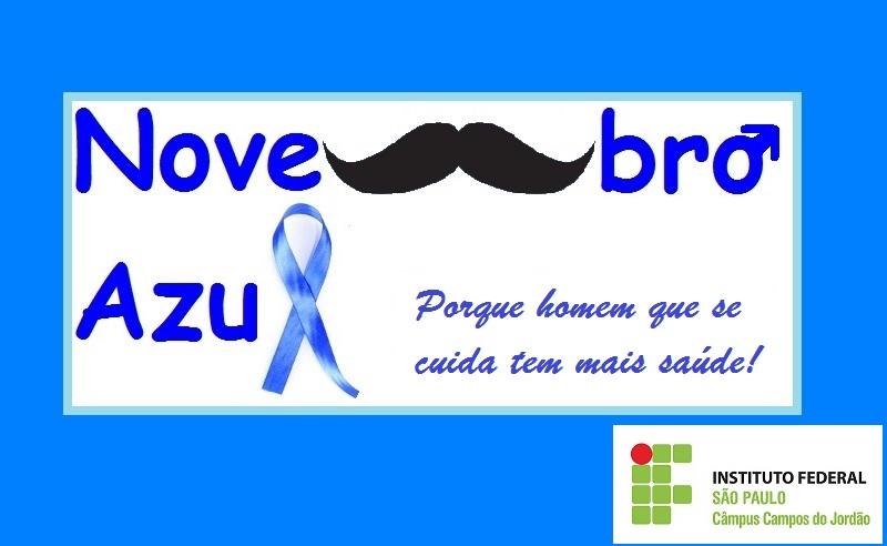 Novembro Azul: nós apoiamos esta causa!